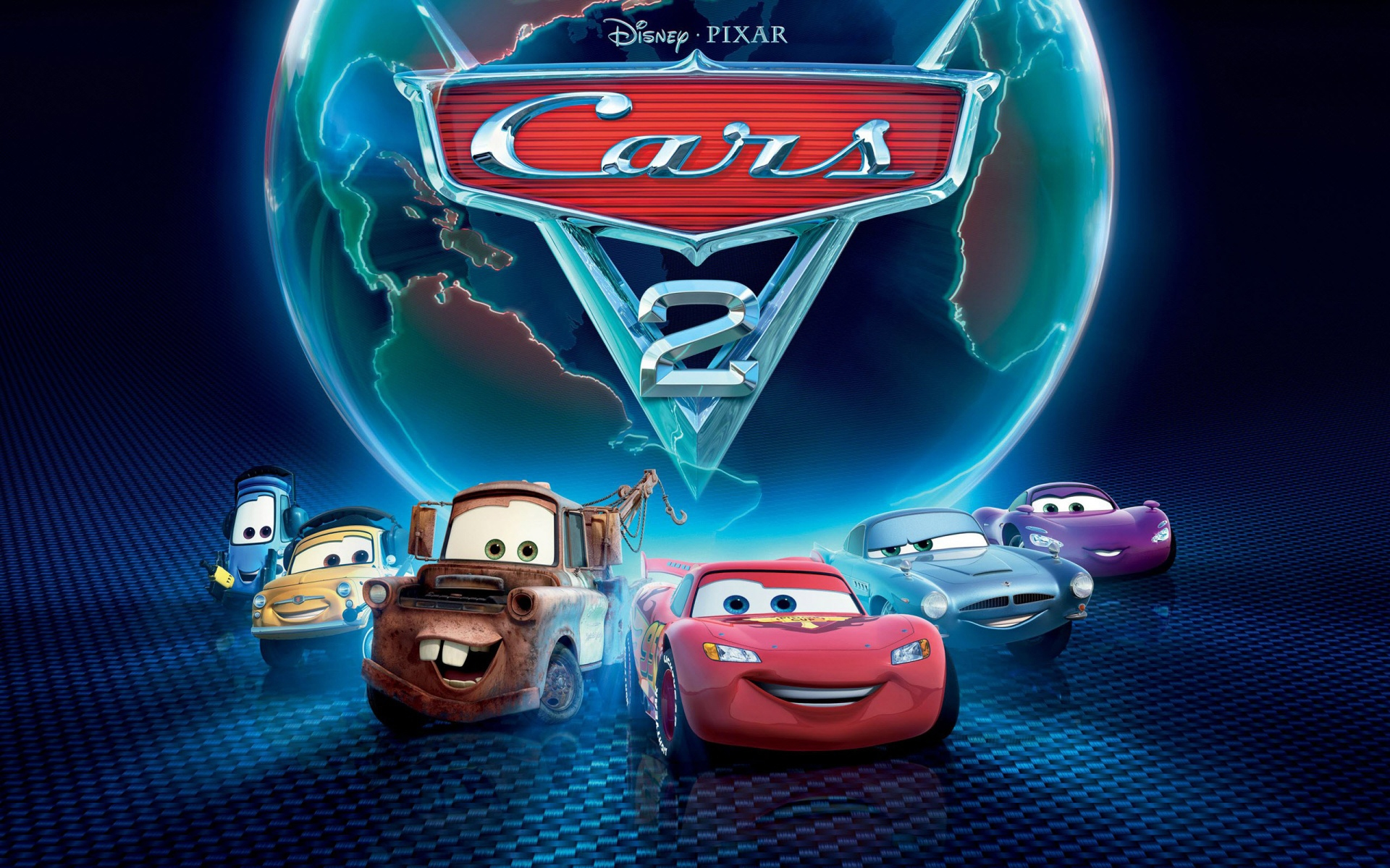 Cars 2 Disney Pixar 1920x1200
