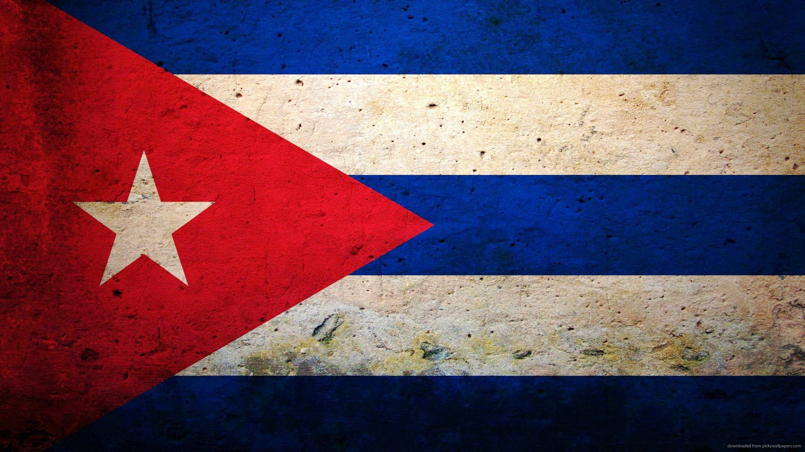 Background of the day Cuban flag Flag wallpapers 2560x1440