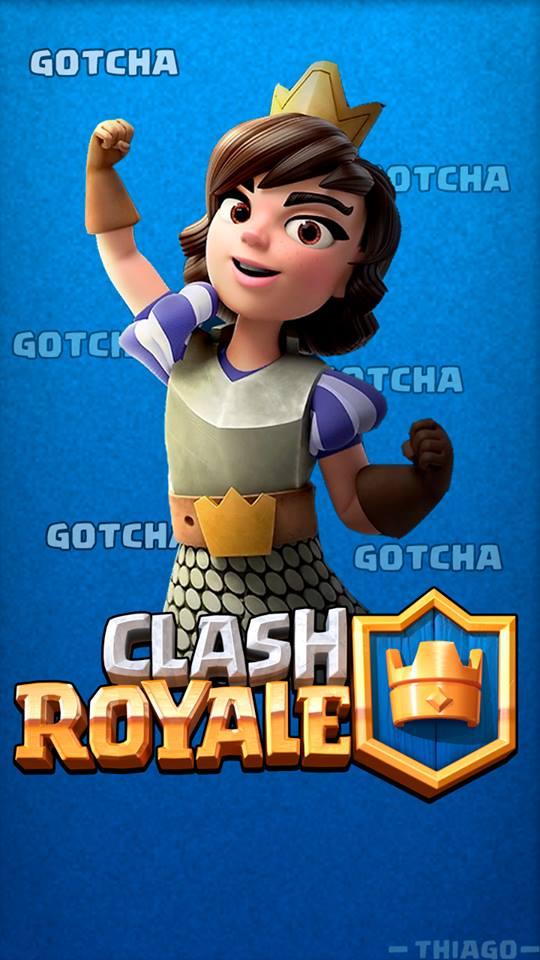 Clash royale wallpaper princess