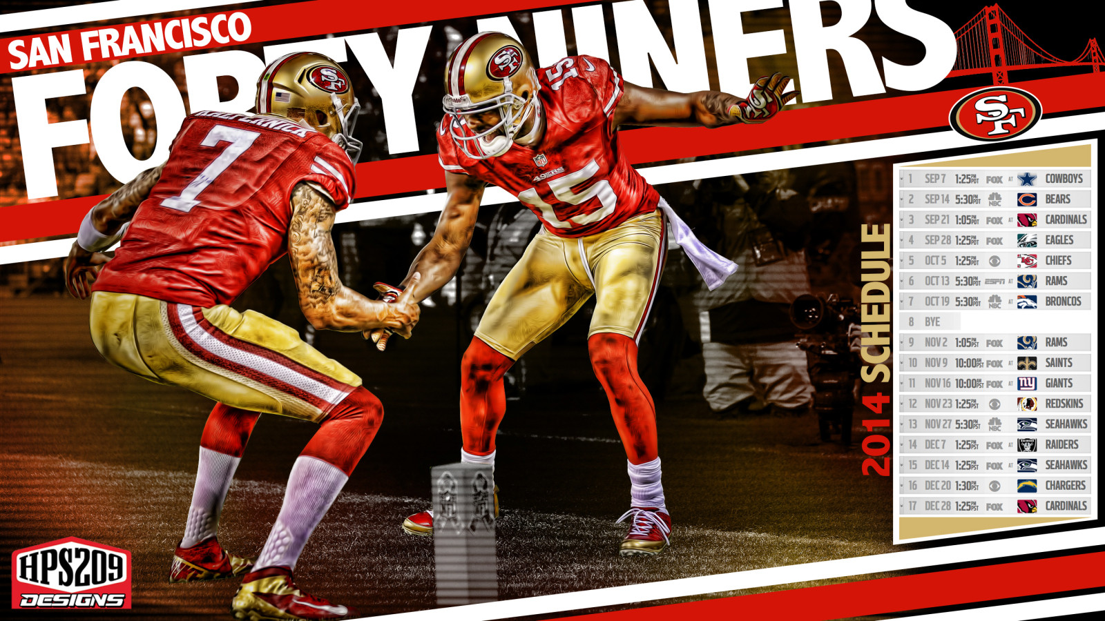 49ers 2015 Wallpapers 1600x900