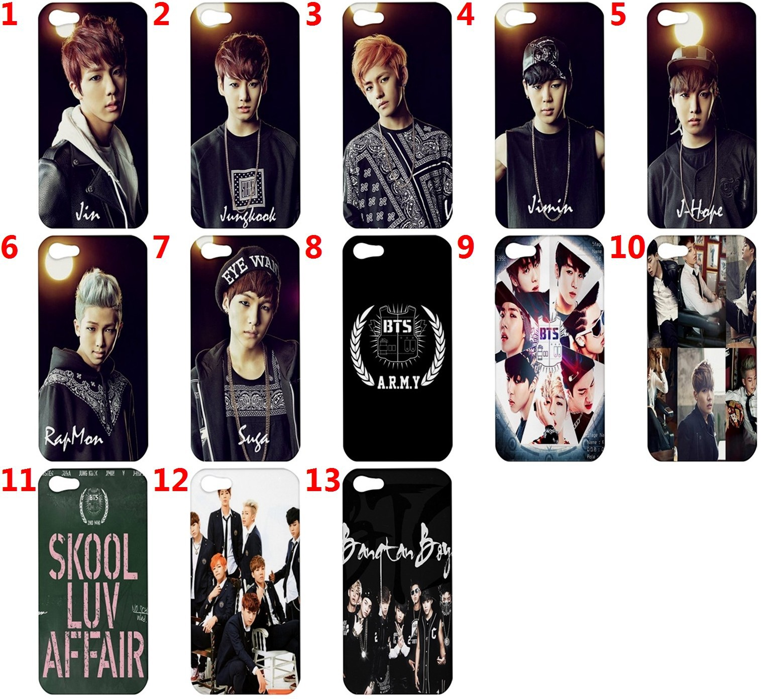 BTS Bangtan Boys Fans Ipod Iphone 44s and 50 similar items 1515x1392