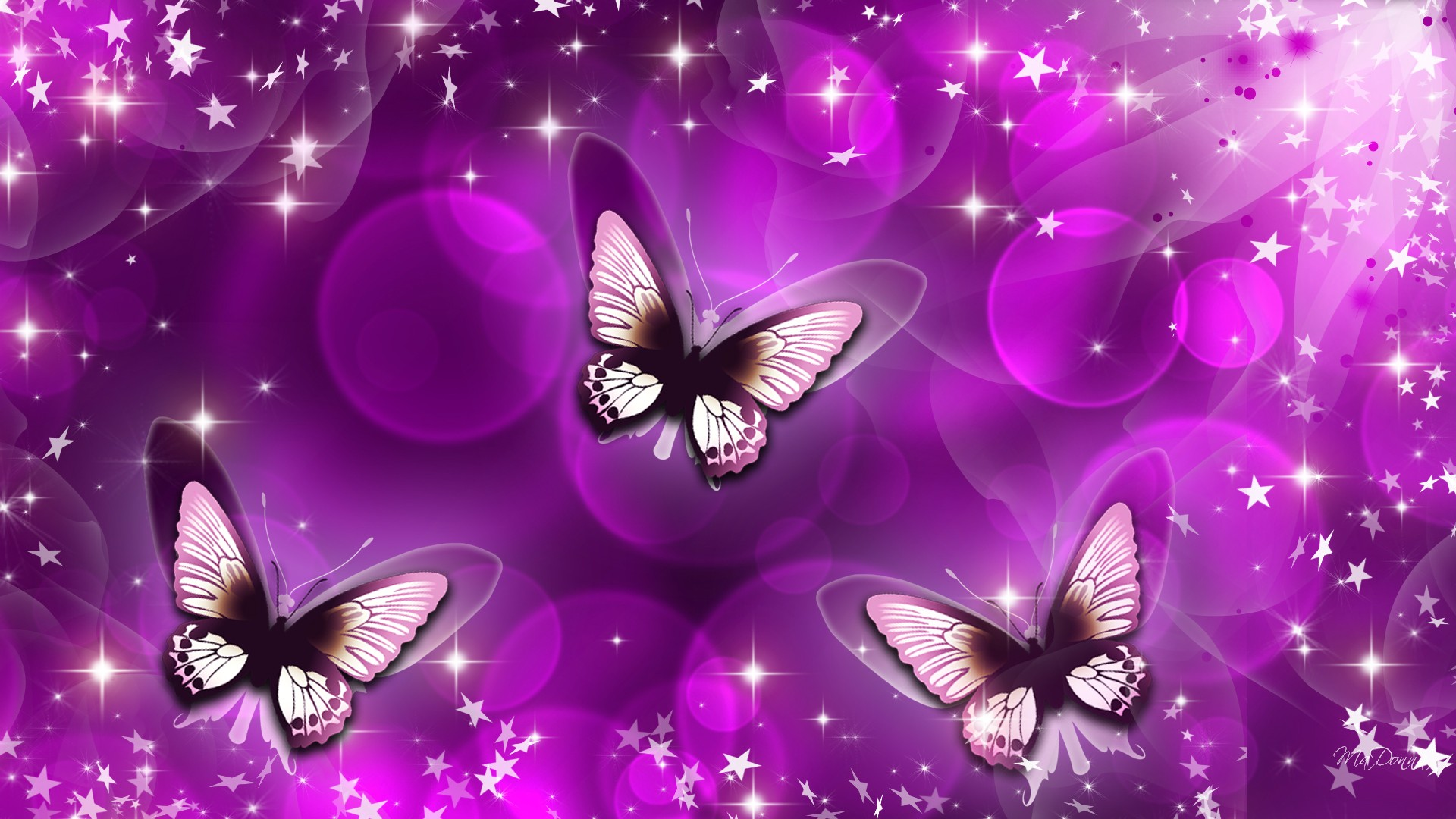 Butterfly Purple Art Wallpaper 11017 Wallpaper Cool Walldiskpaper 1920x1080