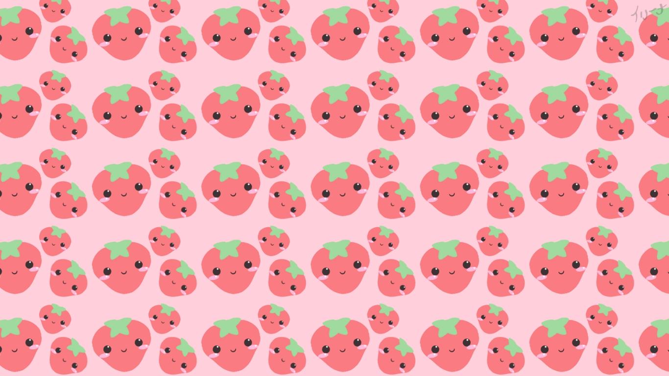 kawaii strawberry wallpaper vintage - photo #20