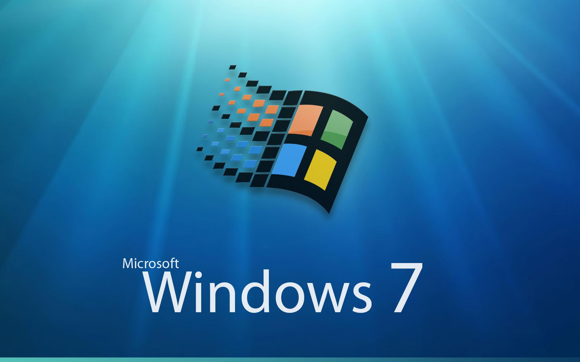 Free download Microsoft Windows 7 logo photo Microsoft Windows 7