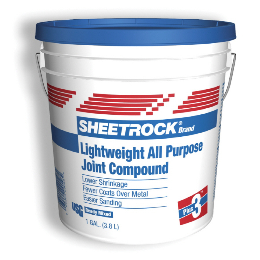 Shop SHEETROCK Brand 9 lb Lightweight Drywall Joint Compound at Lowes 900x900