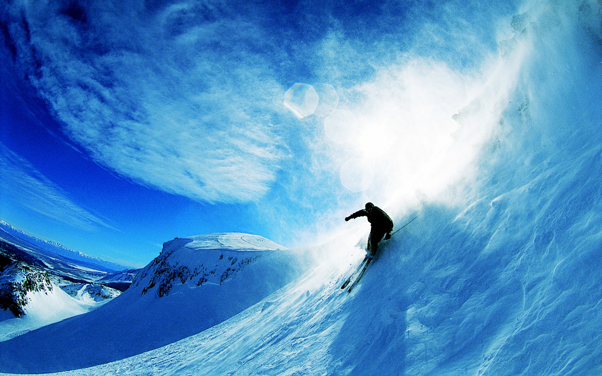 Skiing Over Snow Wallpapers HD Wallpapers 1920x1200