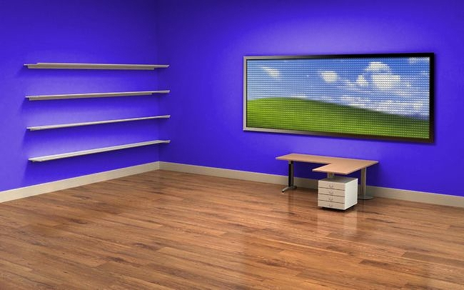 Cool Empty Office Desktop Wallpaper Wallpapersafari Largest Home Design Picture Inspirations Pitcheantrous
