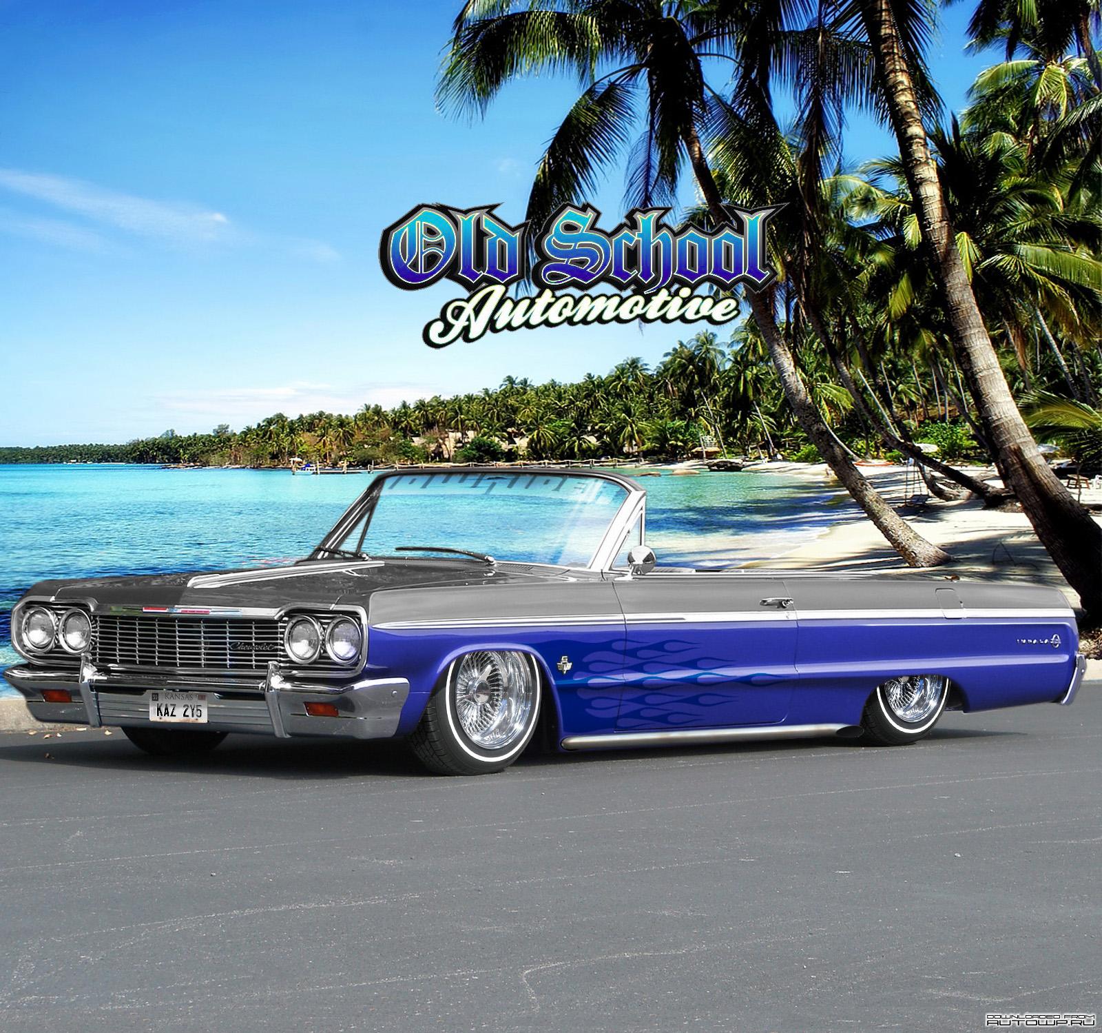 Chevrolet Car Wallpaper: 1964 Impala Lowrider Wallpaper