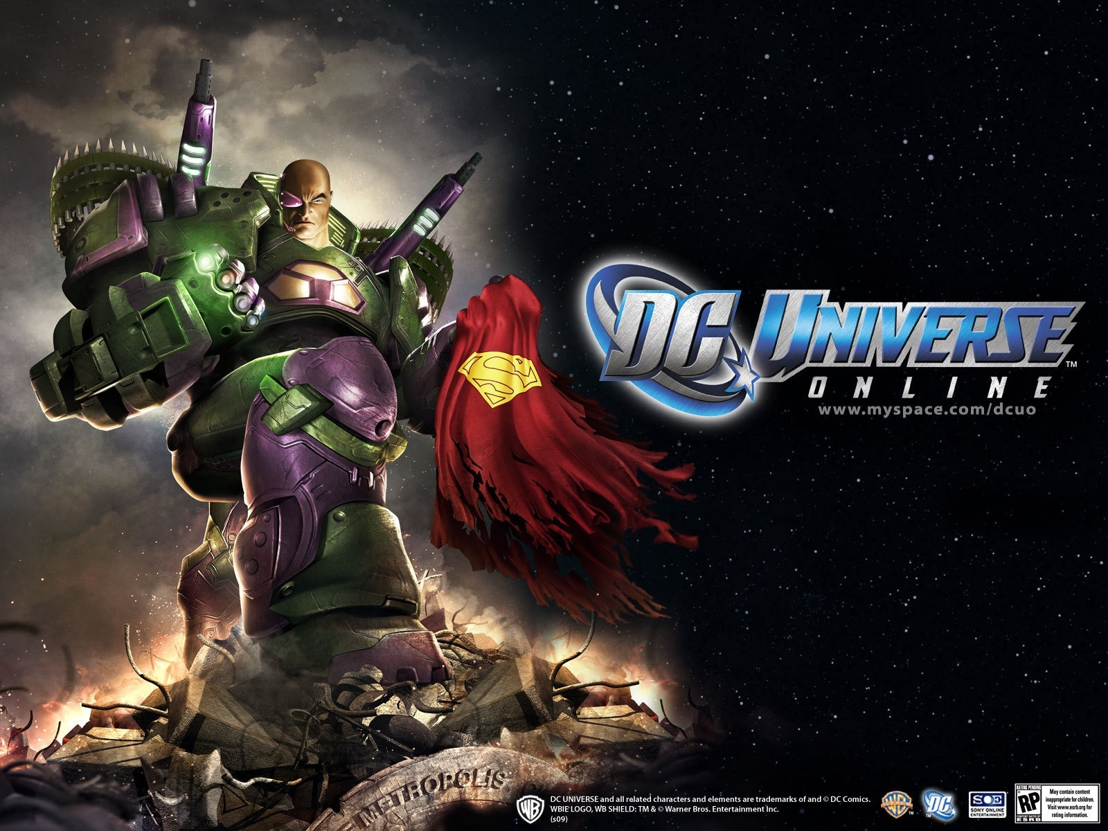 DC Universe Online Wallpapers   DCU Guide 1600x1200
