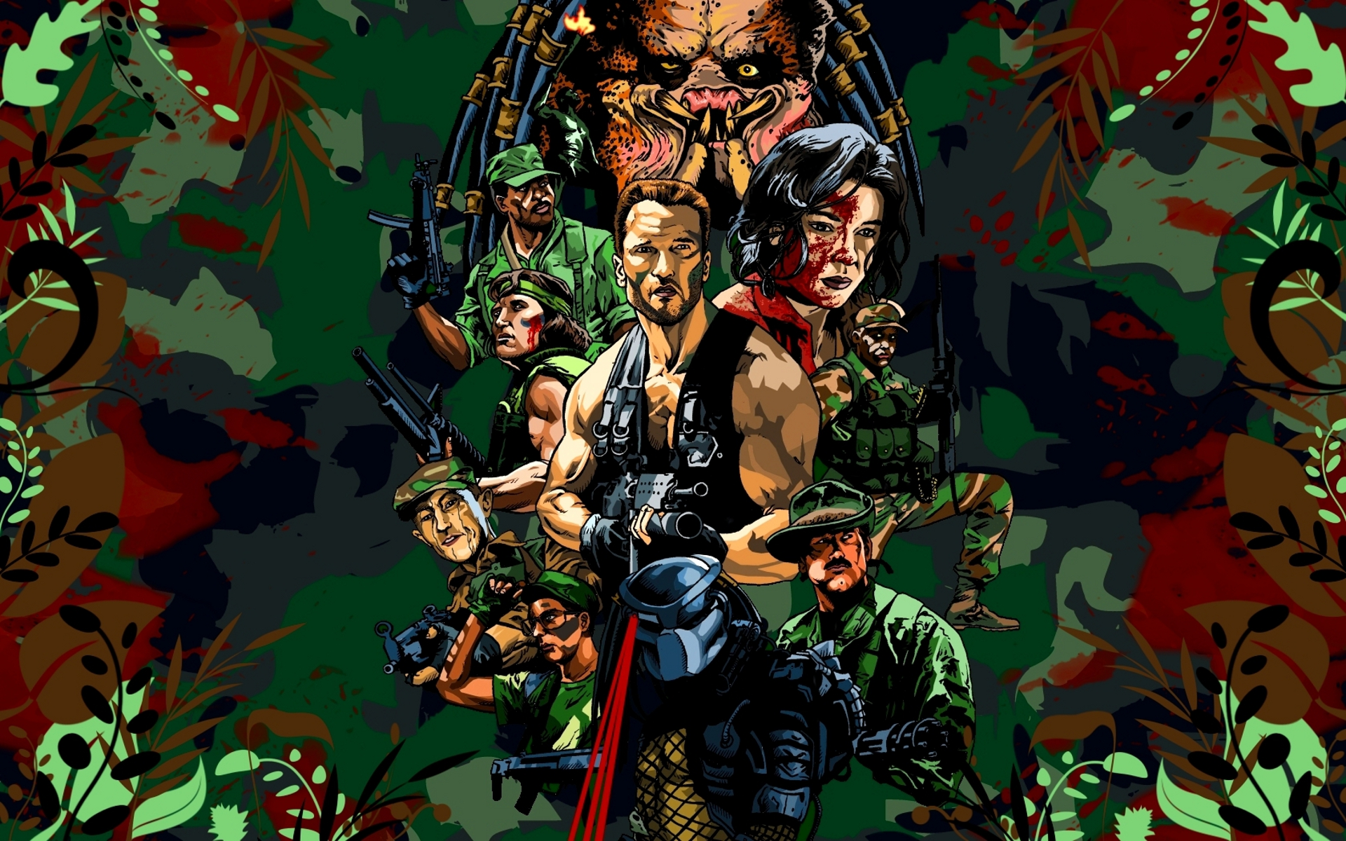 Predator HD Wallpaper Background Image 1920x1200 ID281321 1920x1200