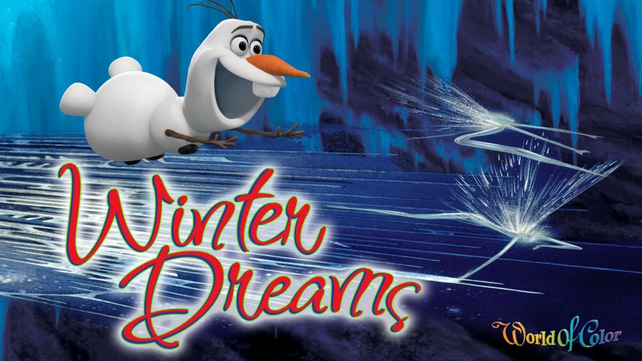 Frozen Disneys Frozen featuring Elsa Olaf and Sven concept art for 1280x720