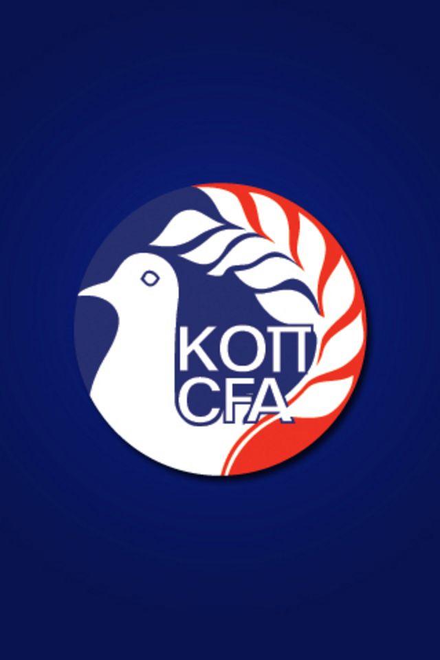Cyprus Football Logo iPhone Wallpaper HD 640x960