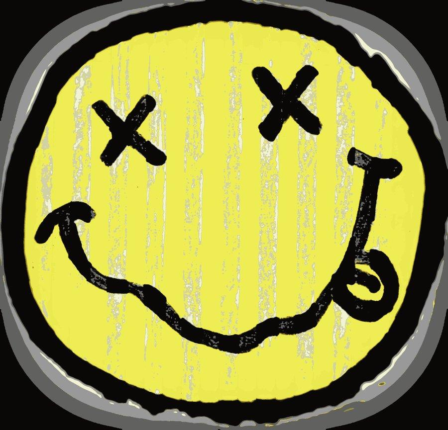 Nirvana Wallpaper Smiley