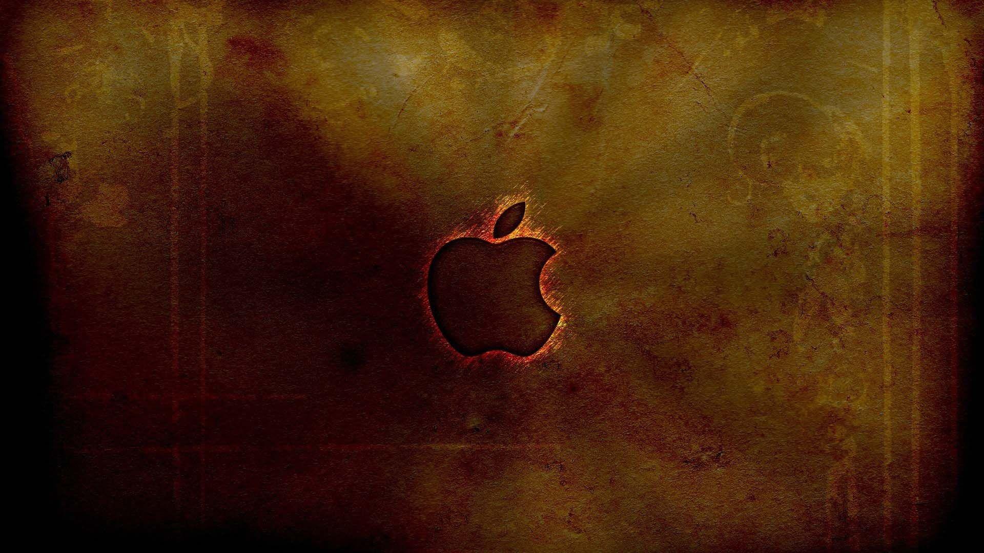 Apple 3d Fire   Mcintosh 1979359   HD Wallpaper Download 1920x1080