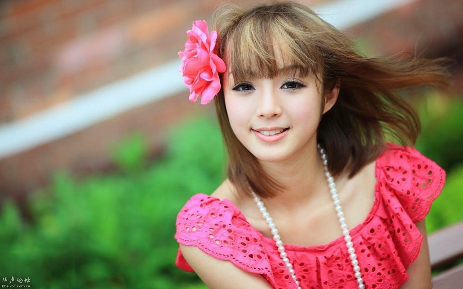 2014 cute asian wallpaper wallpapersafari - Beautiful girl screensaver ...