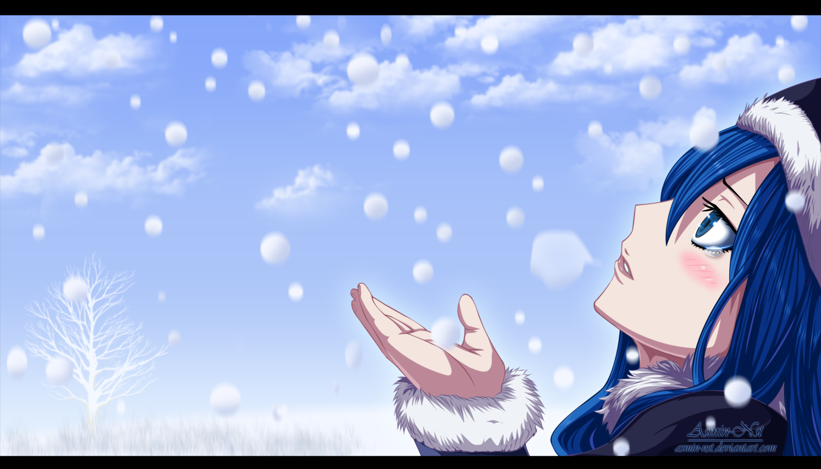 Wallpapers For Fairy Tail Gray And Juvia Wallpaper 1600x915
