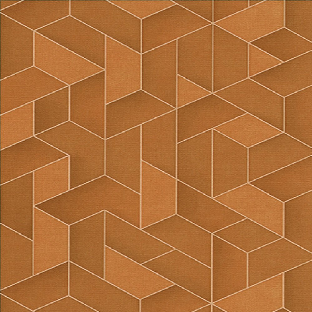 Erismann Levante 3D Geometric Textured Embossed Vinyl Wallpaper 1000x1000
