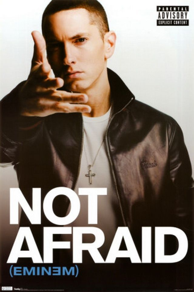 Eminem Eminem not afraid iphone 4 wallpaper wallpapers photo 640x960