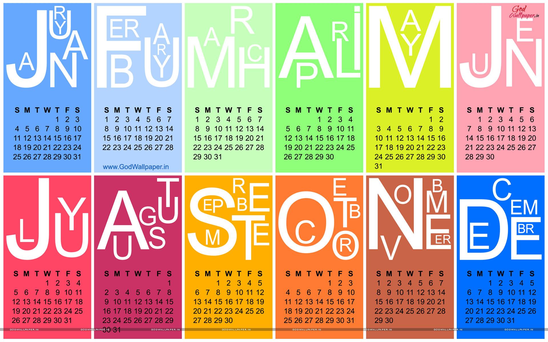 Desktop Calendar Wallpapers 2015 HD Download 1920x1200