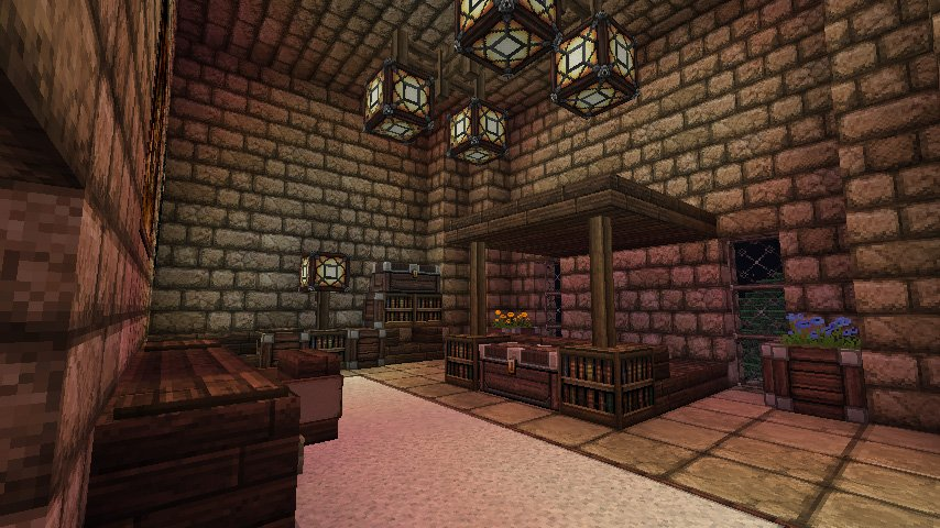 Minecraft   Fortress   Bedroom by Homunculus84 854x480