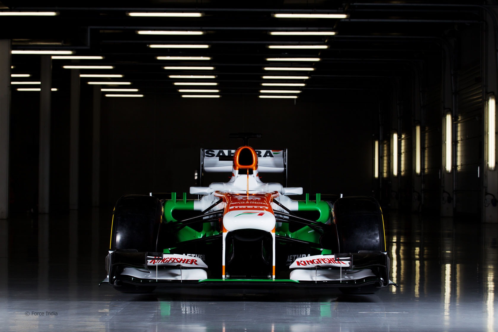 Sahara Force India F1 Zoom Background 5