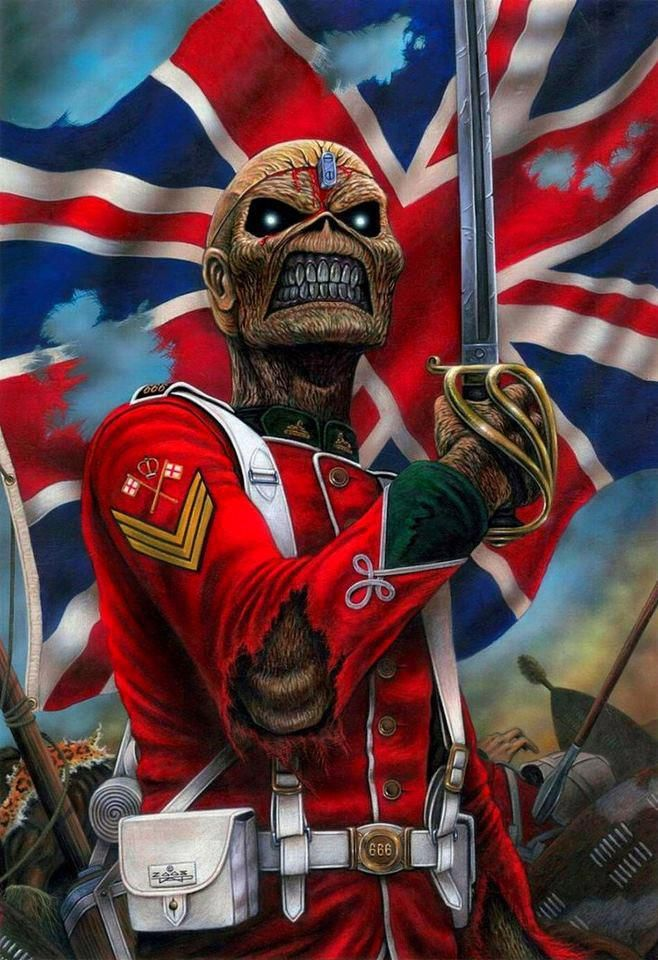 Iron Maiden The Trooper Wallpapers - Wallpaper Zone Iron Maiden Trooper Wallpaper