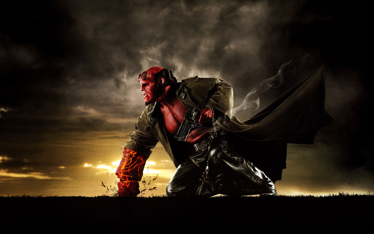 Movie Wallpaper Hellboy Wallpaper 8453 Wallpaper WallpapersTubecom 1280x800