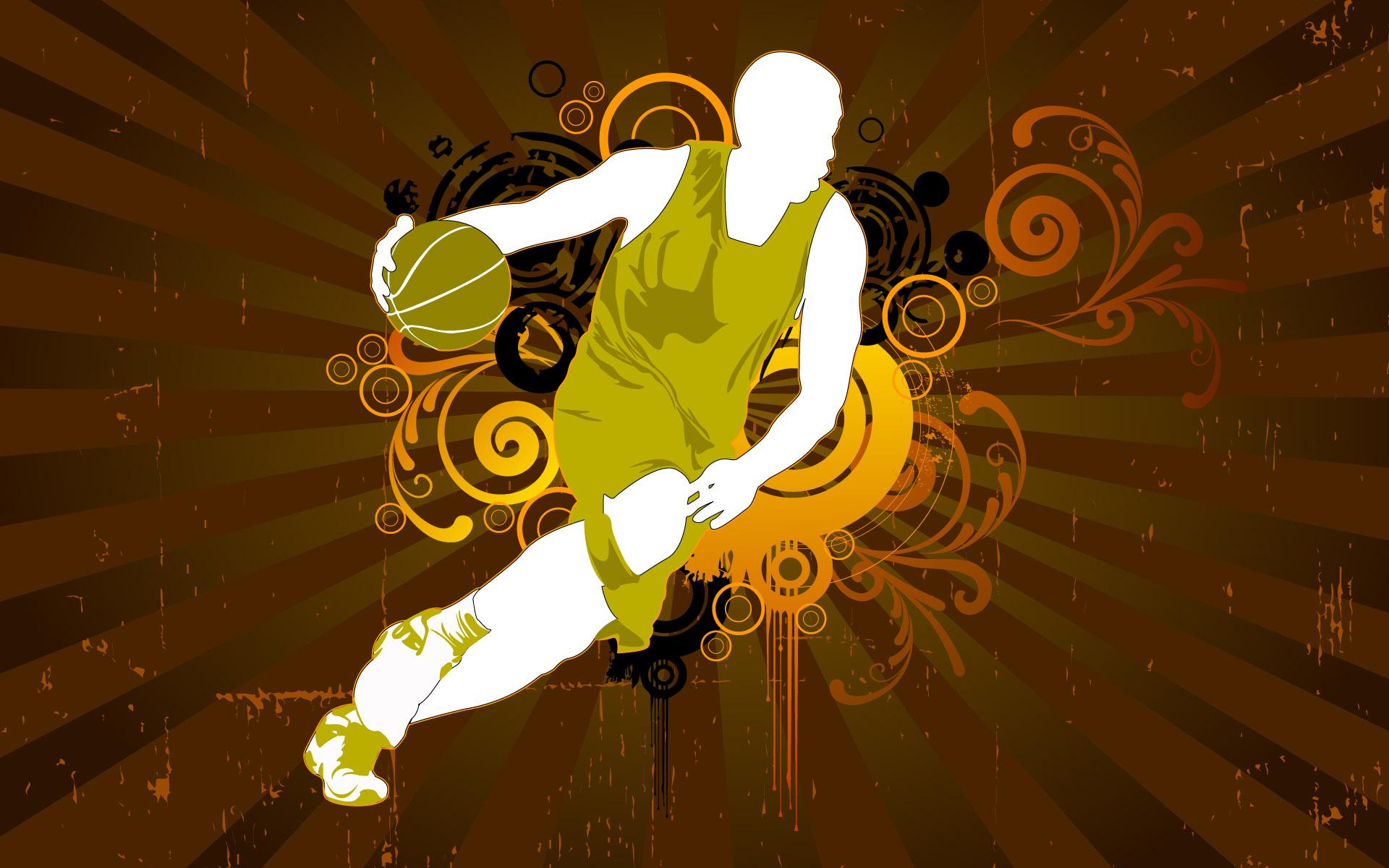 Basketball Vector HD Wallpapers HD Wallpapers 1920x1200