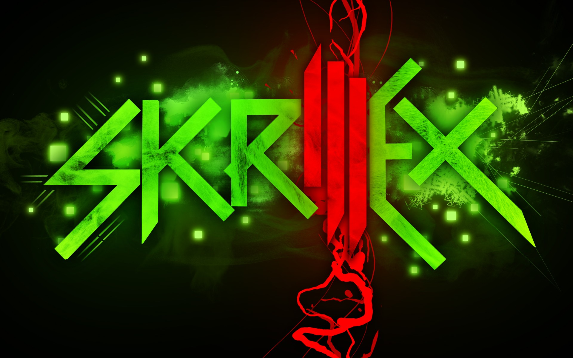 Electronics Dubstep Skrillex Scary Monsters And Nice Sprites Wallpaper 1920x1200