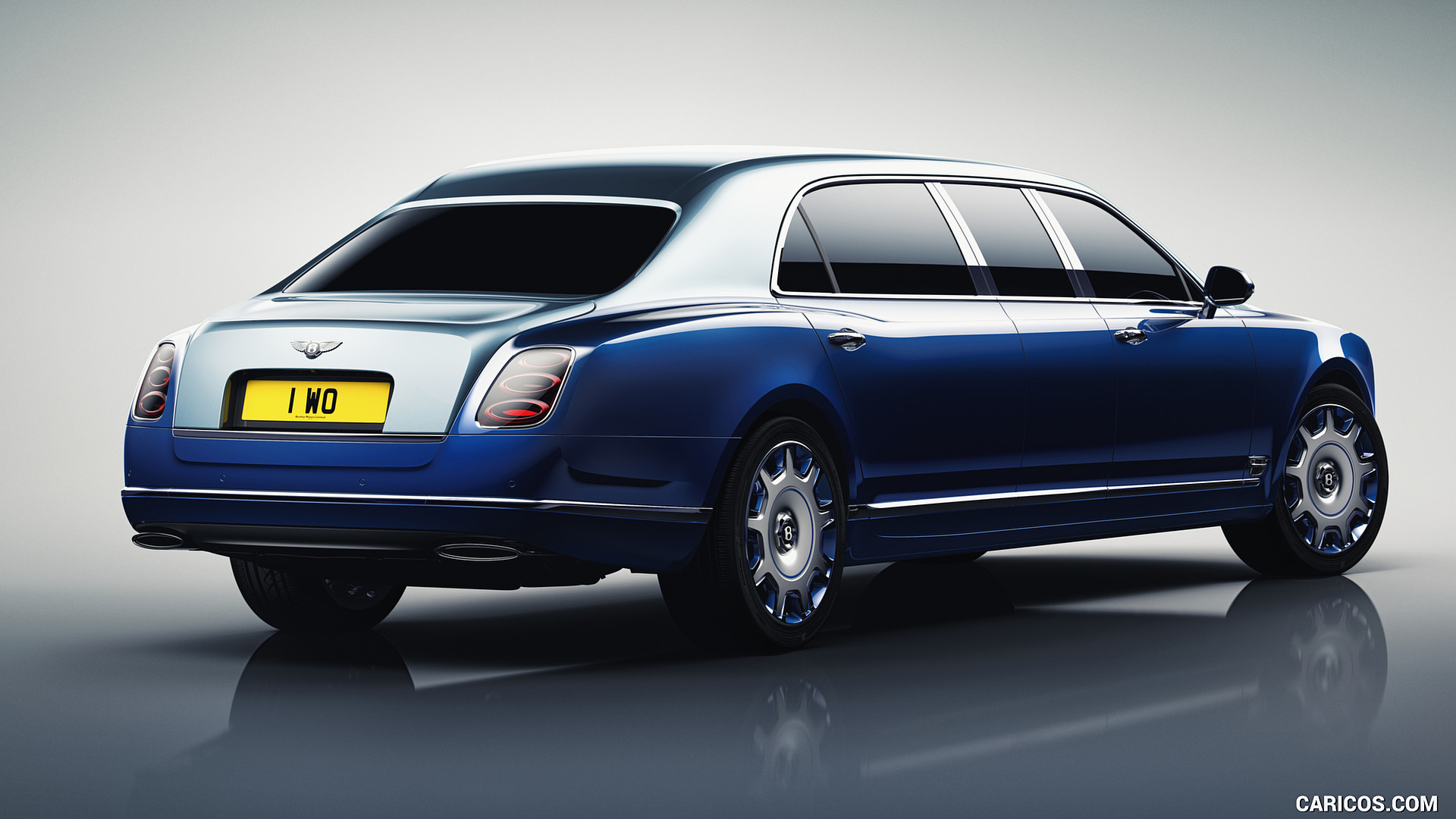 2016 Bentley Mulsanne Grand Limousine by Mulliner   Rear Three 1920x1080