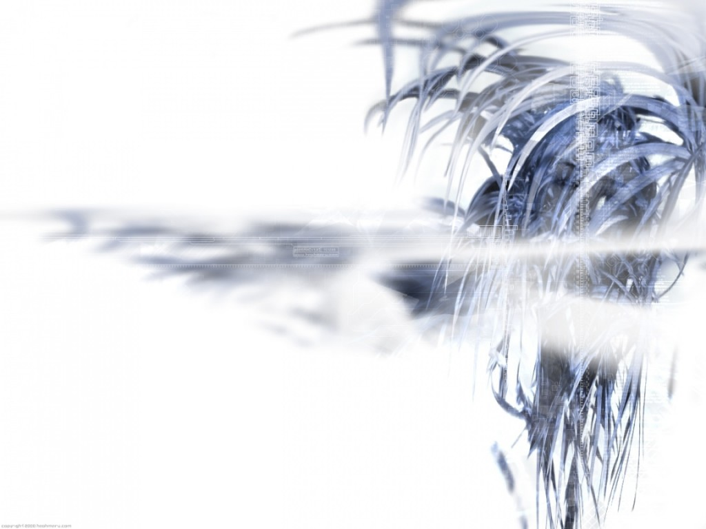 White 3D wallpapers White 3D background   Page 2 1024x768