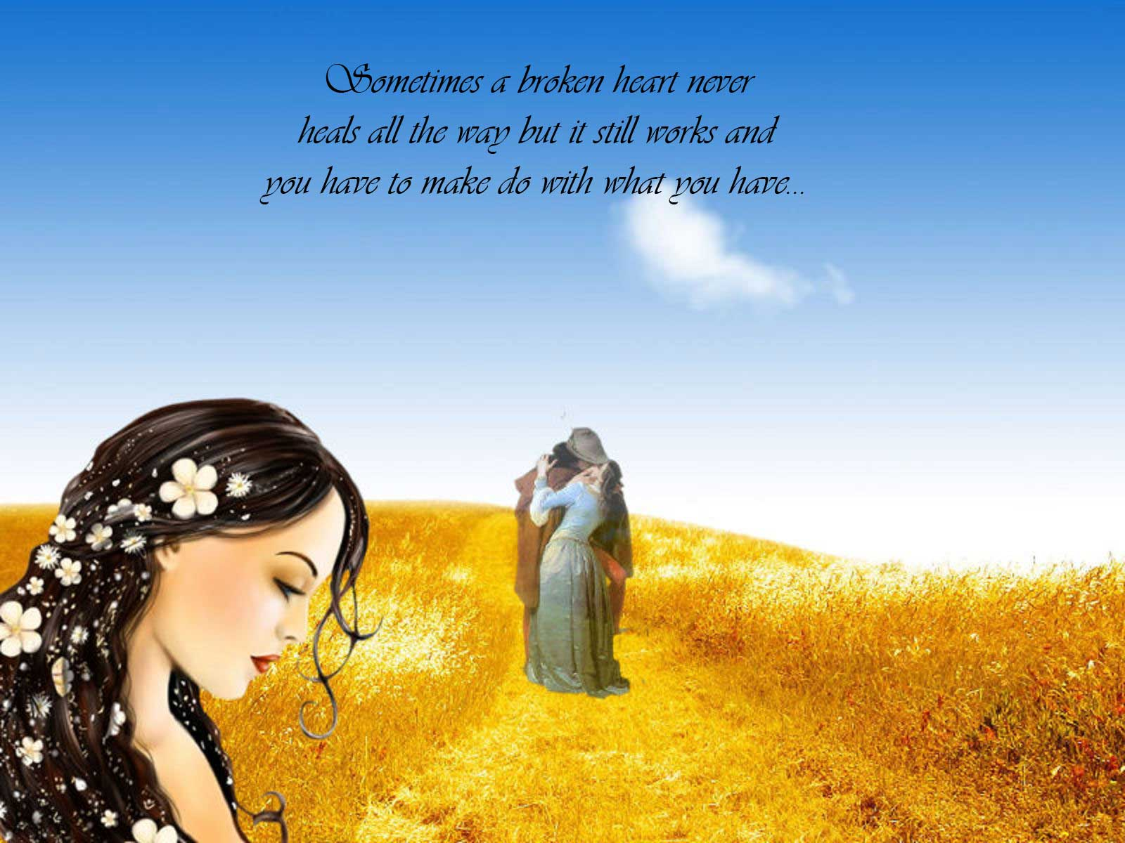 Sad Love Quotes   Wallpaper High Definition High Quality 1600x1200