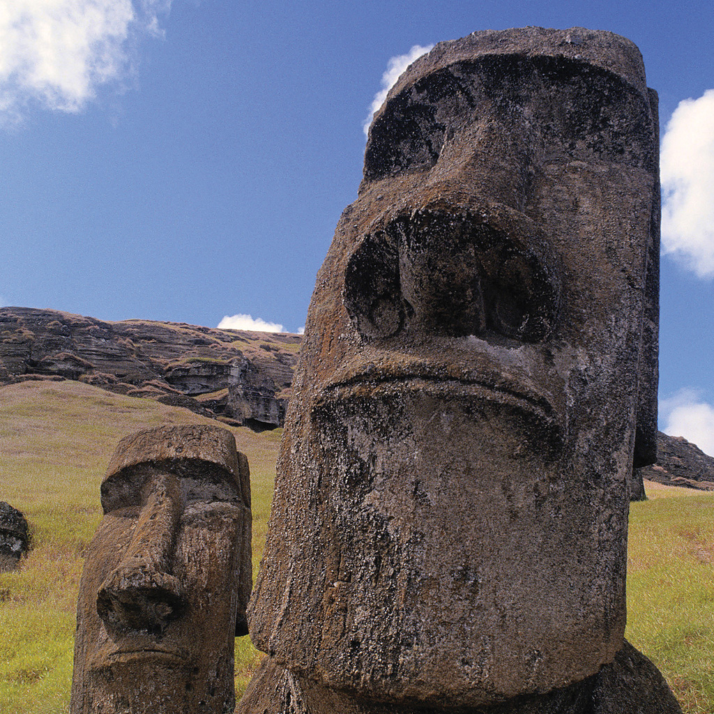Easter Island statue wallpapers iPad Backgrounds Best iPad Wallpaper 1024x1024