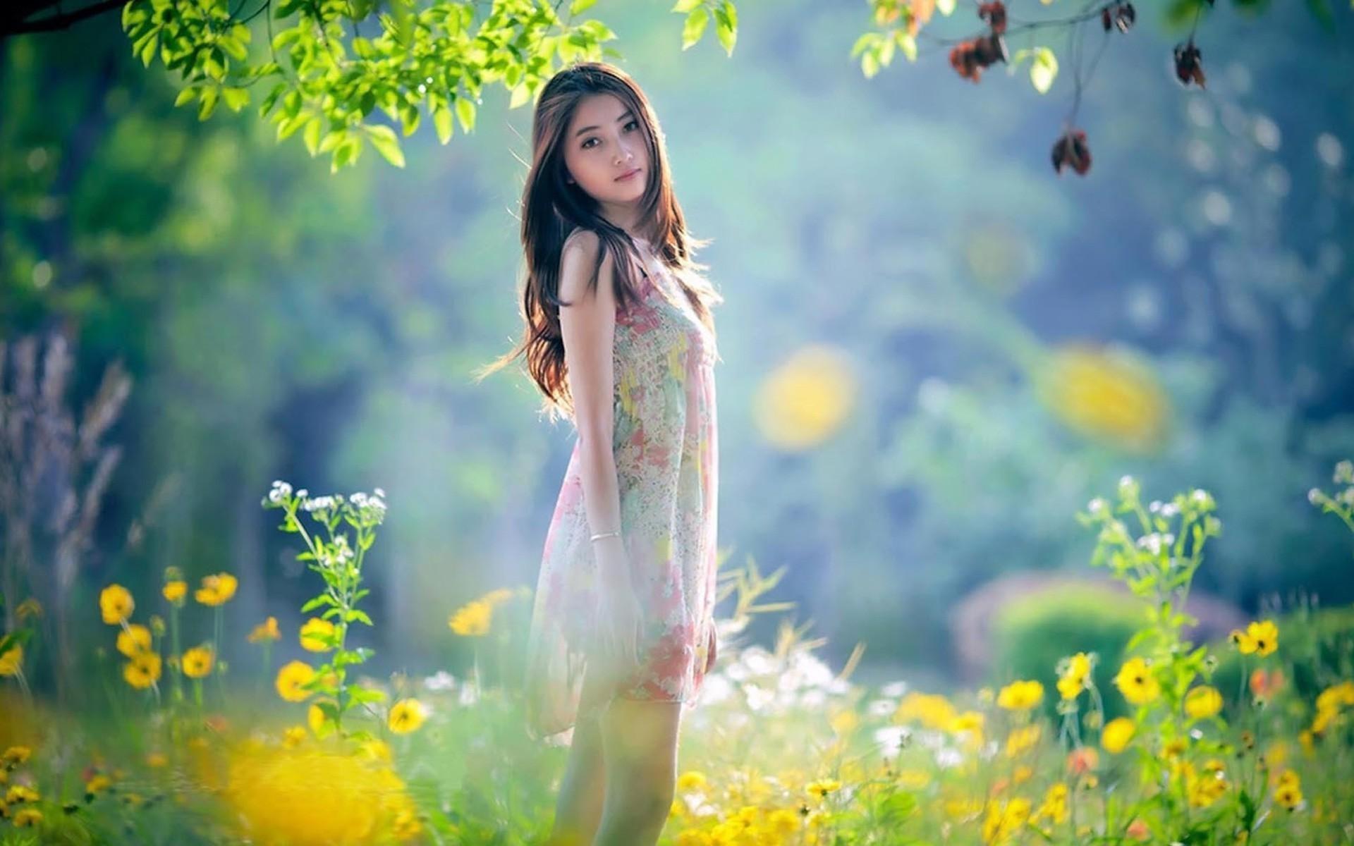 Asian nature desktop wallpaper wallpapersafari - Cute little girl pic hd ...