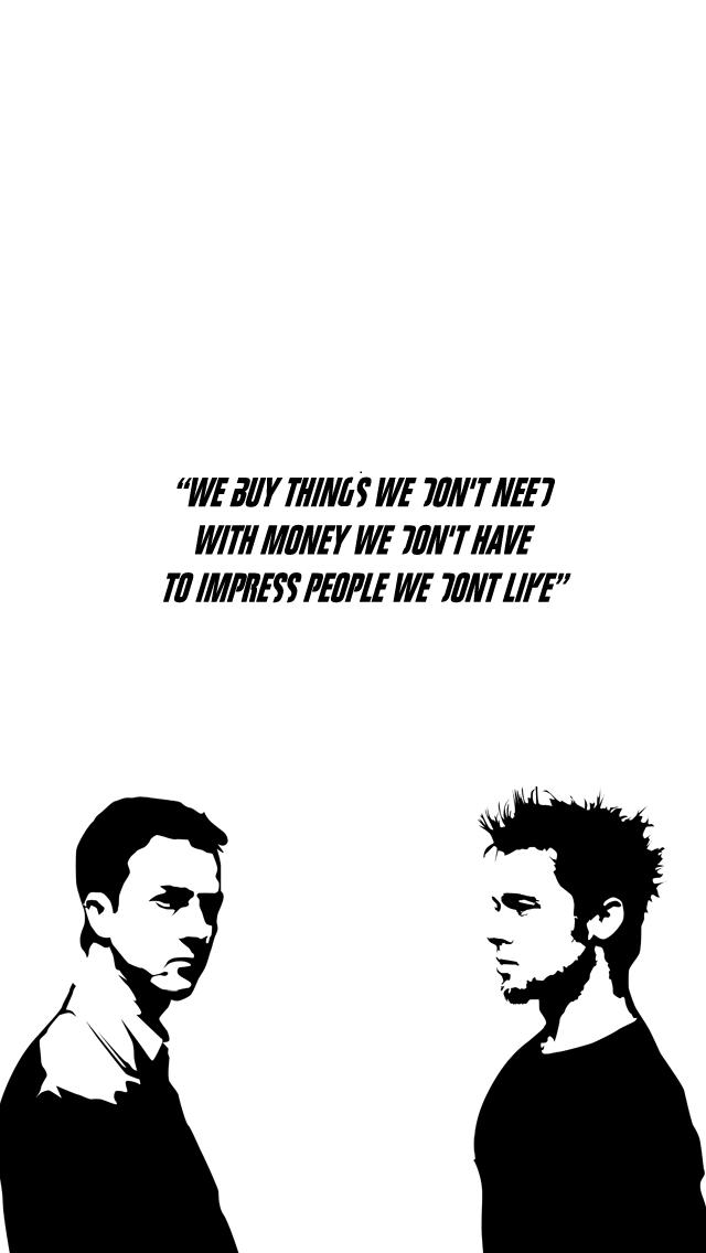 Chuck Palahniuk Quotes Wallpapers   Inspirational e quotescom 640x1136