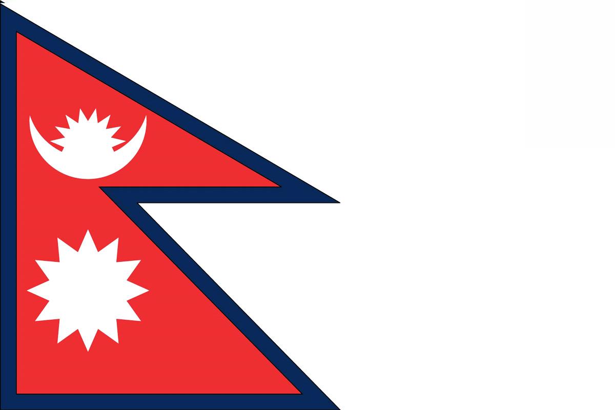 Nepal Flag Bandera de Nepal Republic of Nepal wallpaper download 1200x800