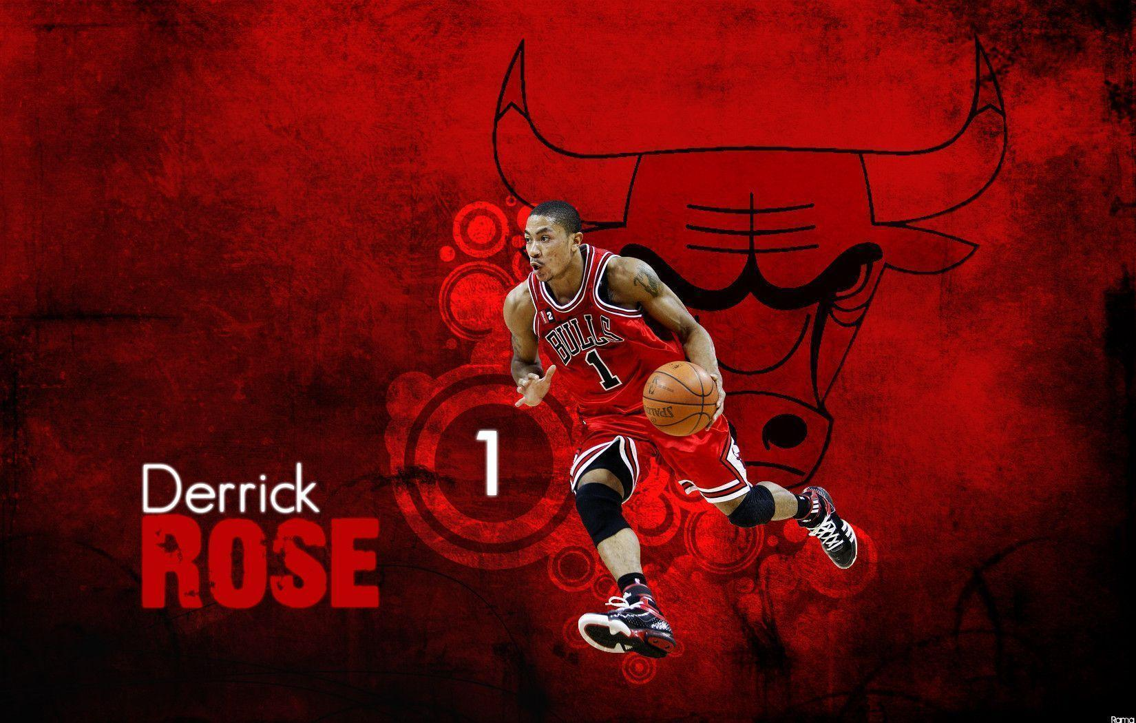 Derrick Rose Logo Wallpapers 1650x1050