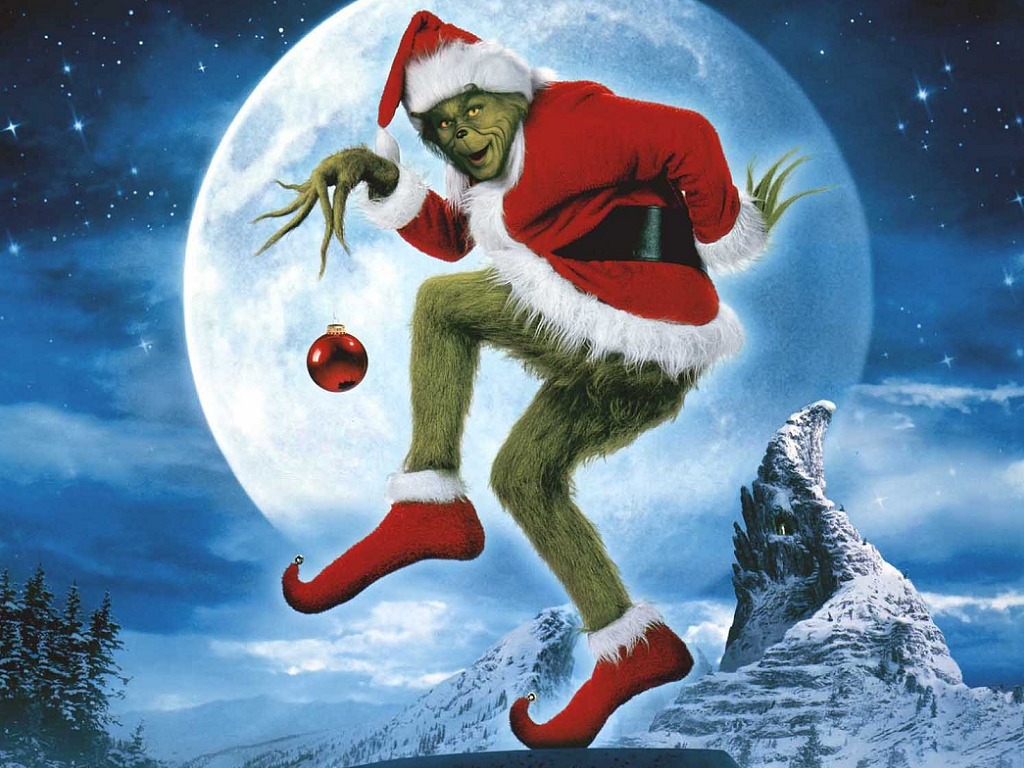 The Grinch   How The Grinch Stole Christmas Wallpaper 33148450 1024x768