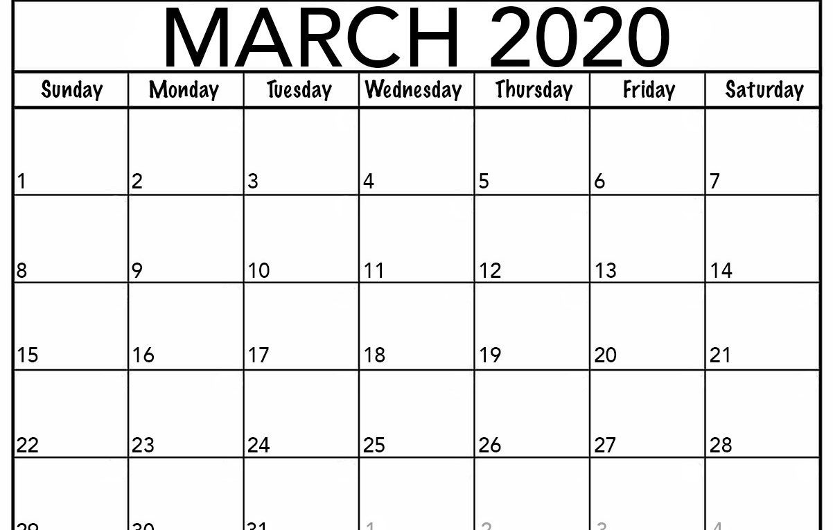 March 2020 Calendar Wallpapers   Top March 2020 Calendar 1202x765