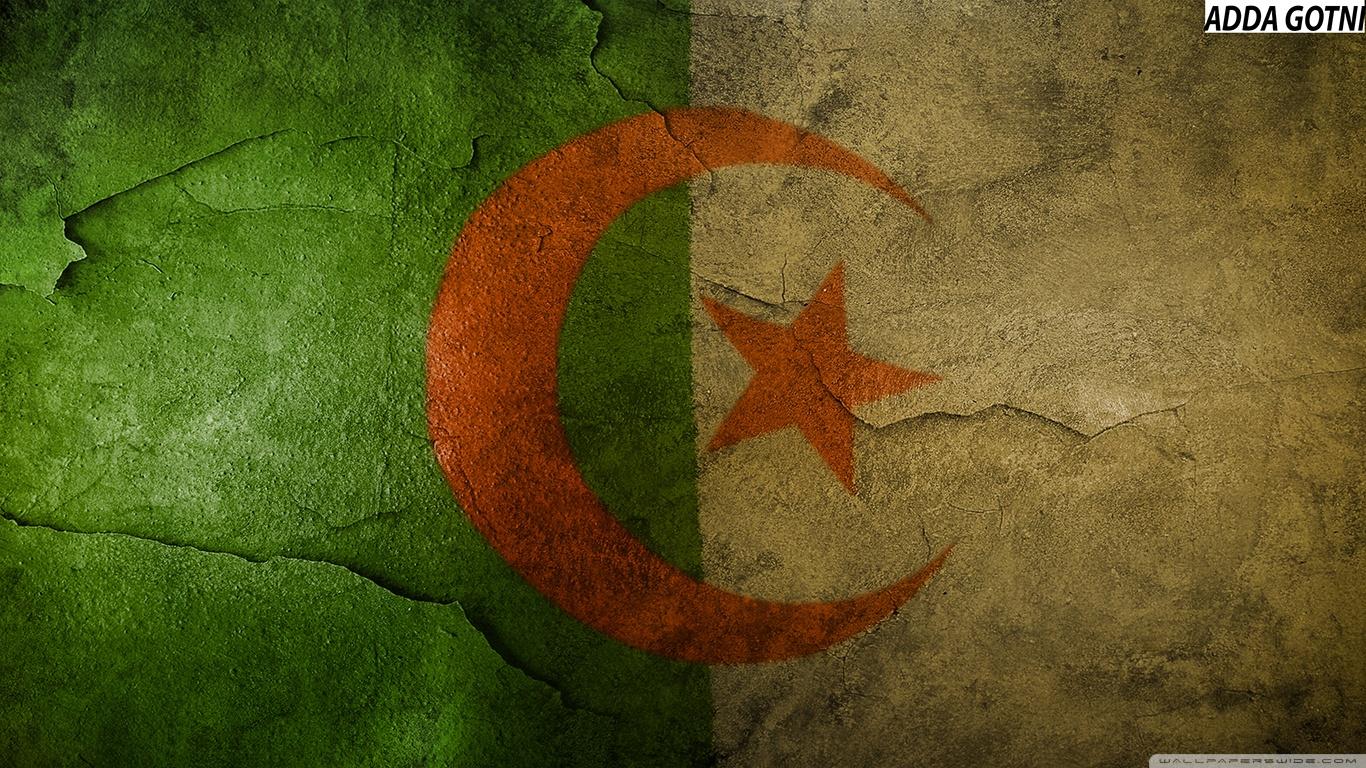 Algeria Flag Hd 4K HD Desktop Wallpaper for 4K Ultra HD TV 1366x768