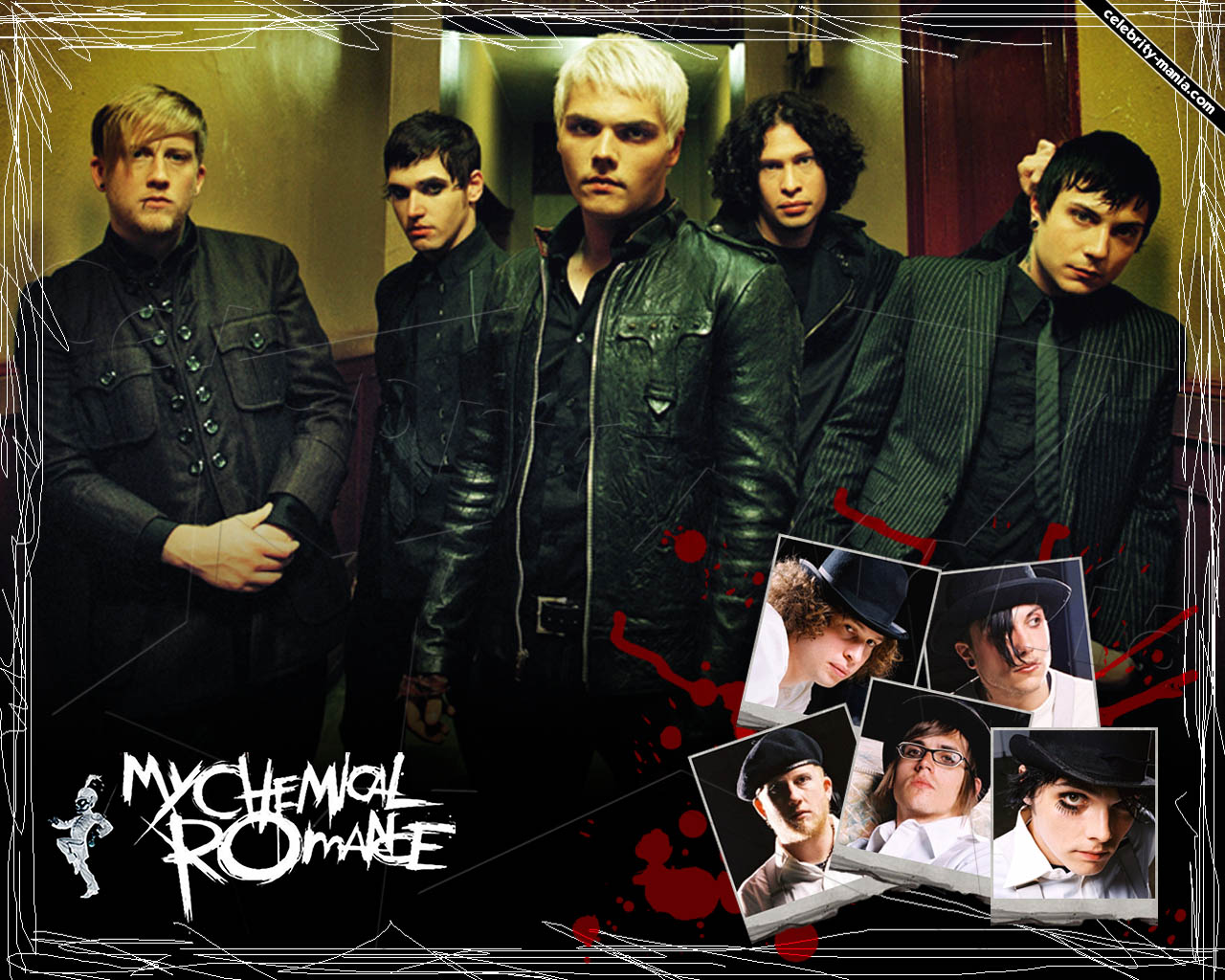 MY CHEMICAL ROMANCE wallpaper ALL ABOUT MUSIC 1280x1024