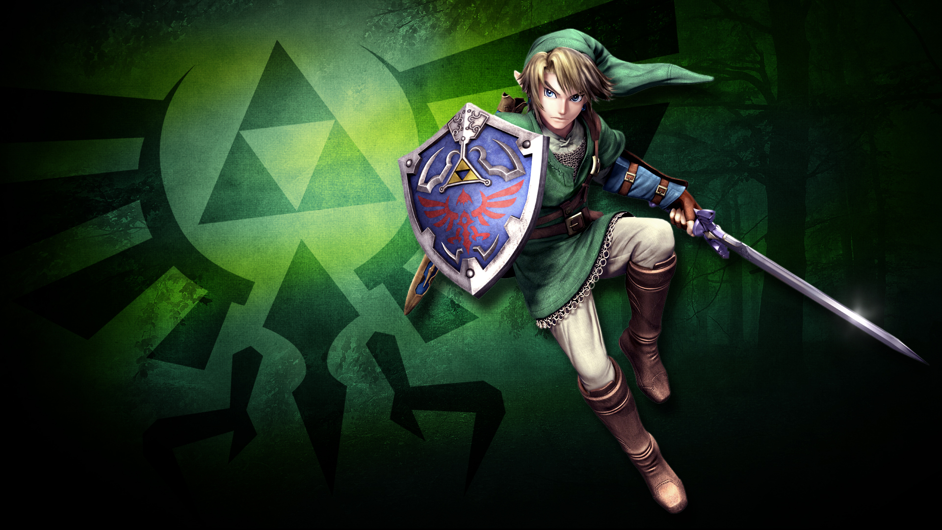 Link in the Lost Woods Computer Wallpapers Desktop Backgrounds 1920x1080