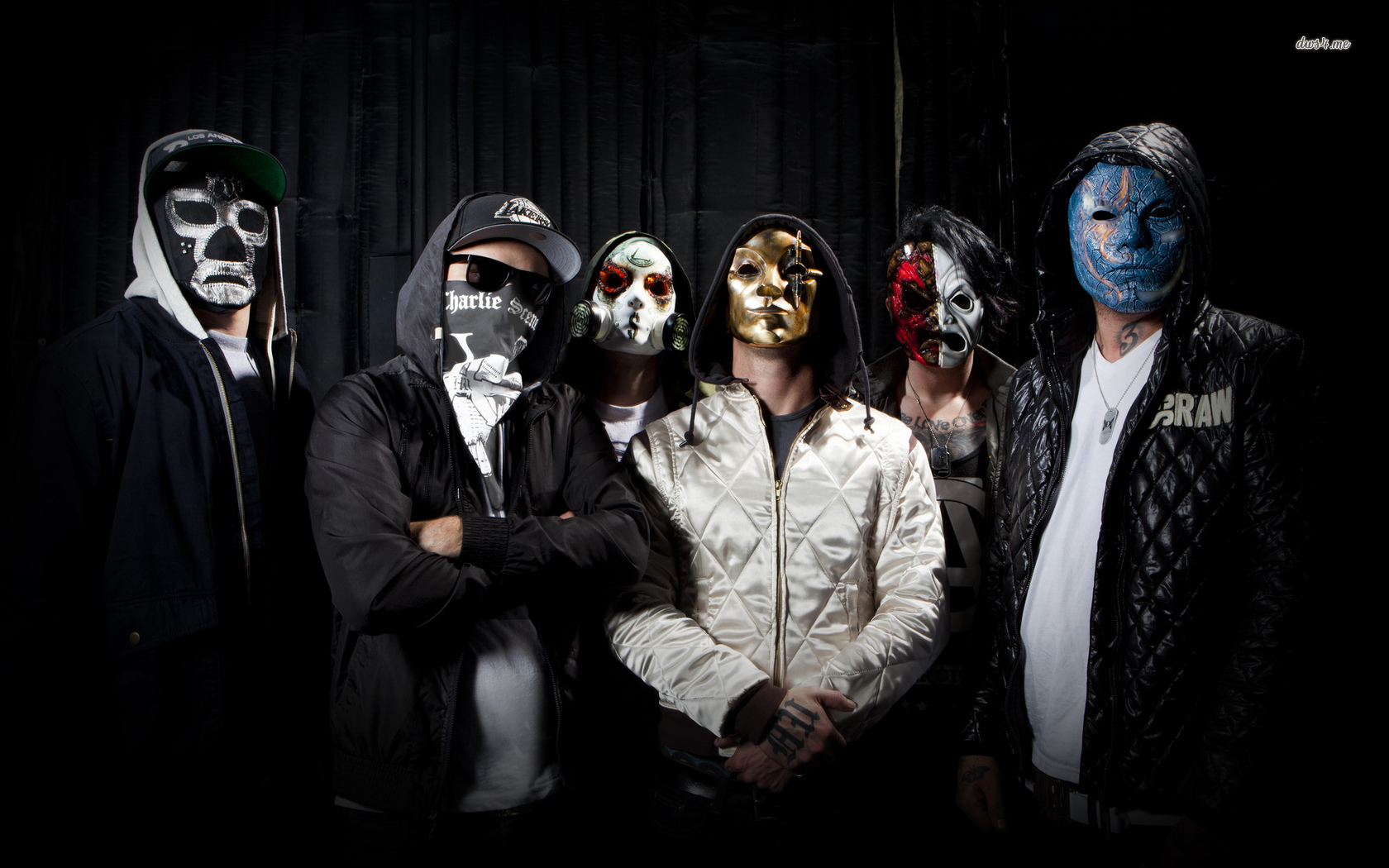 Hollywood Undead wallpaper   Music wallpapers   17329 1680x1050
