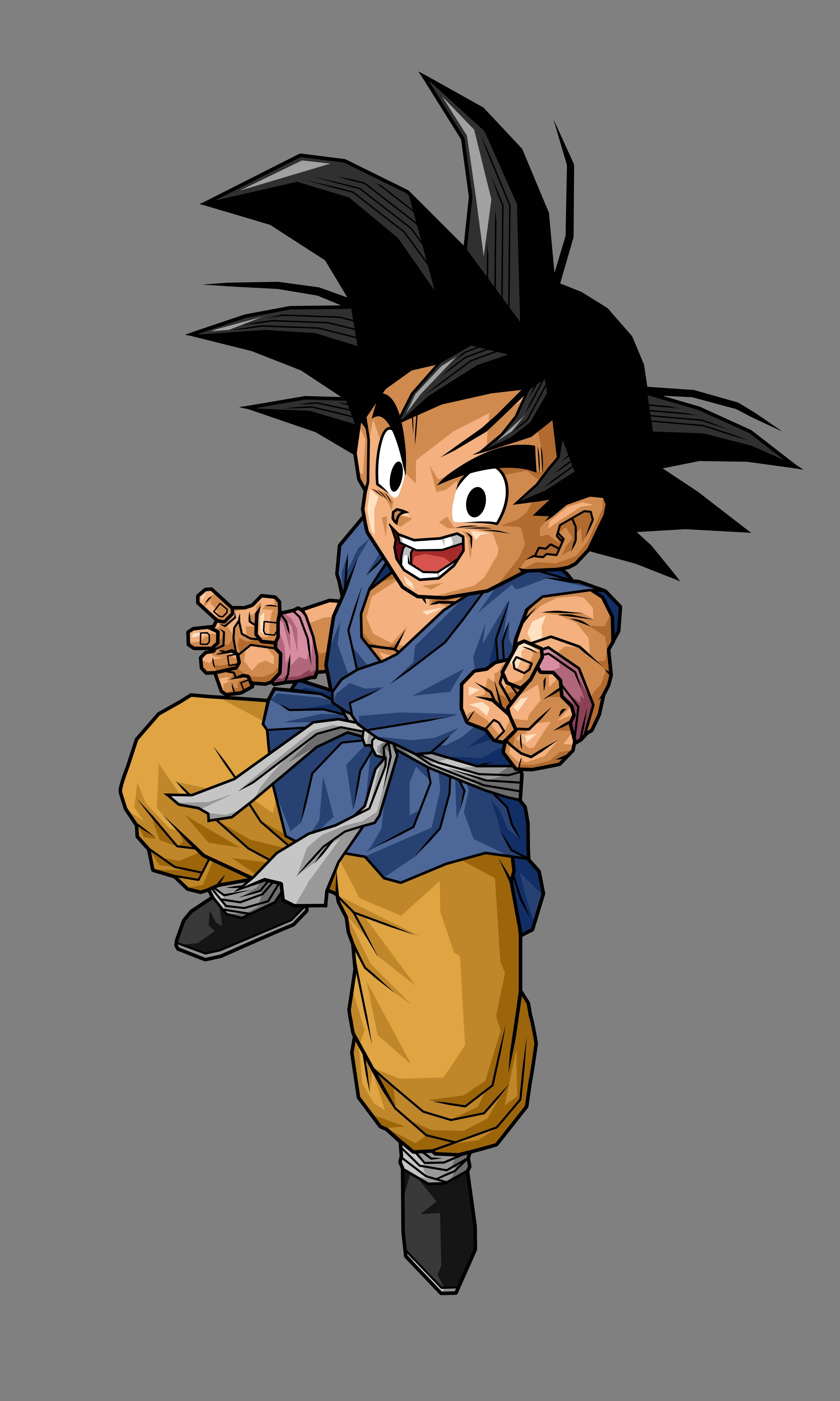 Goku Gt Wallpapers 4800x8000