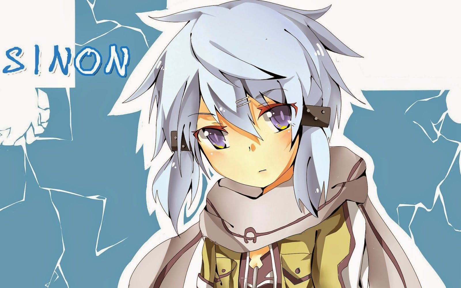 Sinon SAO II Wallpaper 1600x1000