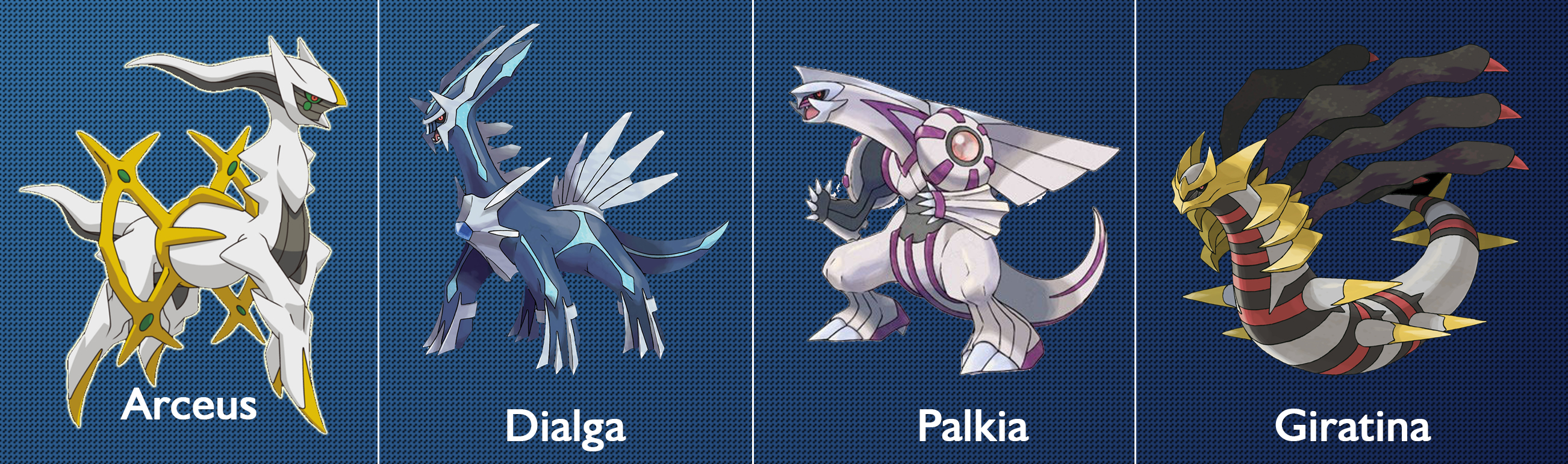 dialga palkia giratina arceus - photo #10
