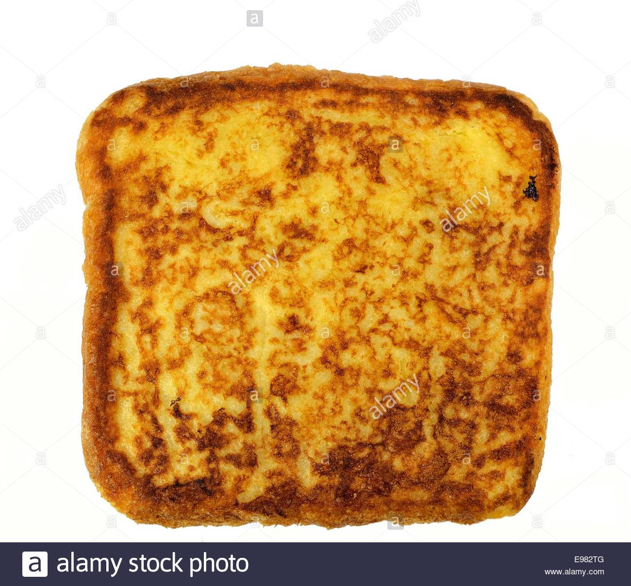 Slice of french toast on a white background Stock Photo 74551248 1300x1208