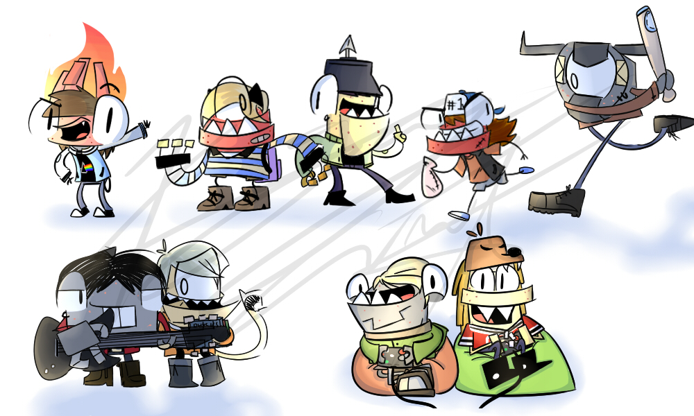 Teenage Mixels by kjay747 400 1000x600