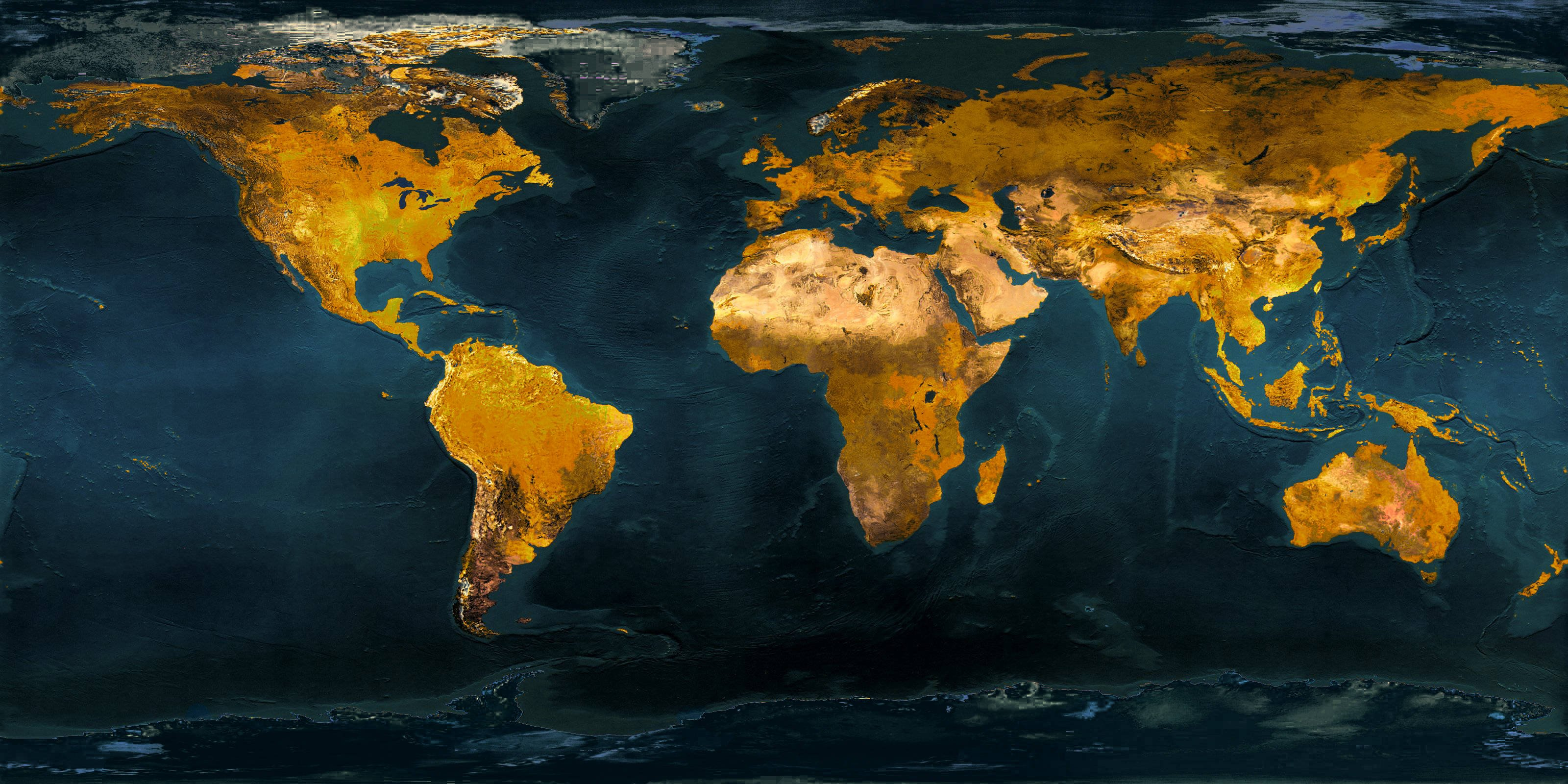 World Map Wallpaper High Resolution