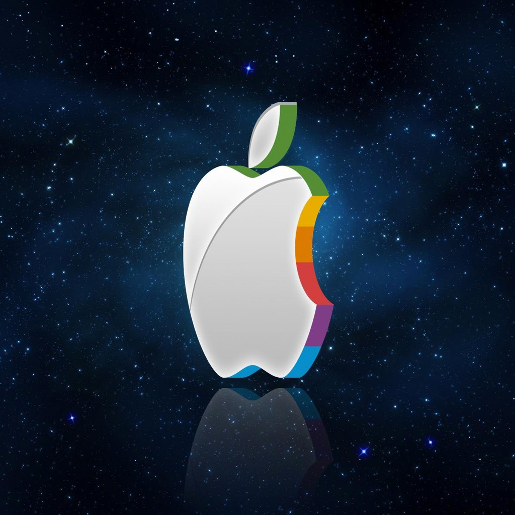 iPad Wallpapers New apple logo   Apple iPad iPad 2 iPad mini 1024x1024